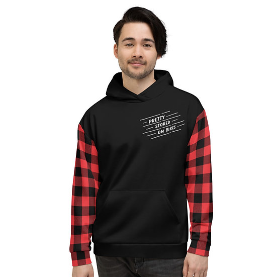Team Flannel Hoodie (Front & Back)