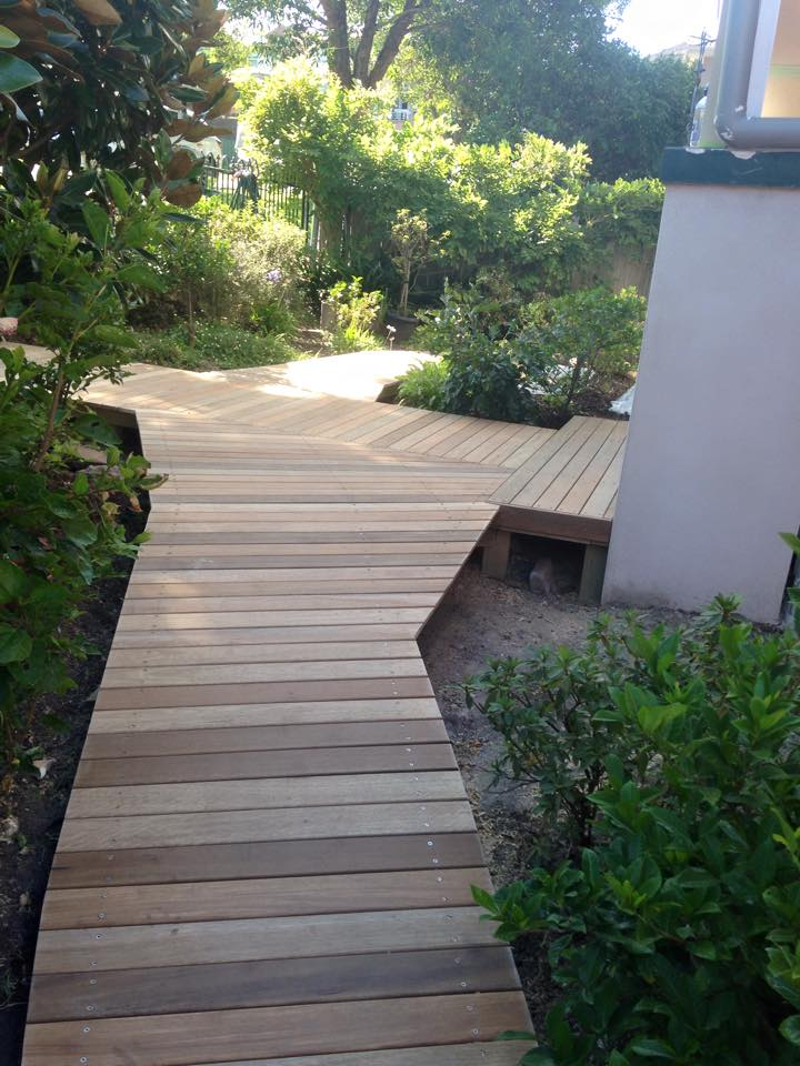 House of Troy Renovation Decking