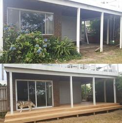 House of Troy Renovation Deck
