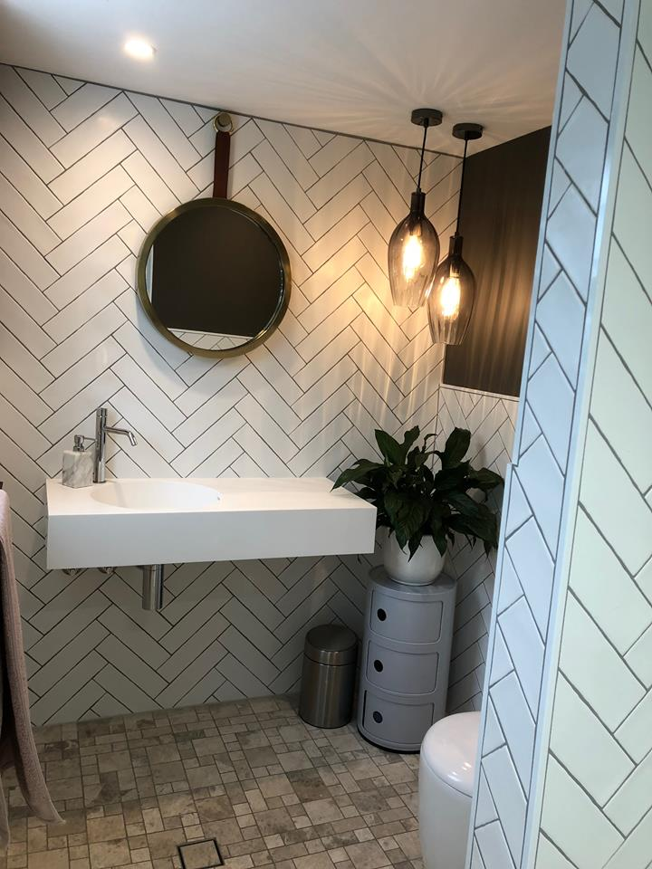 House of Troy Renovation Bathroom