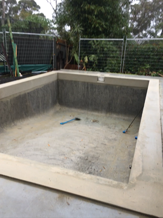 House of Troy Renovation Pool