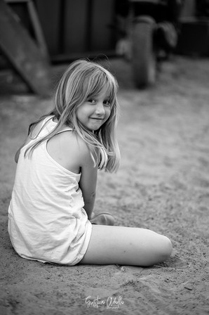 A menina