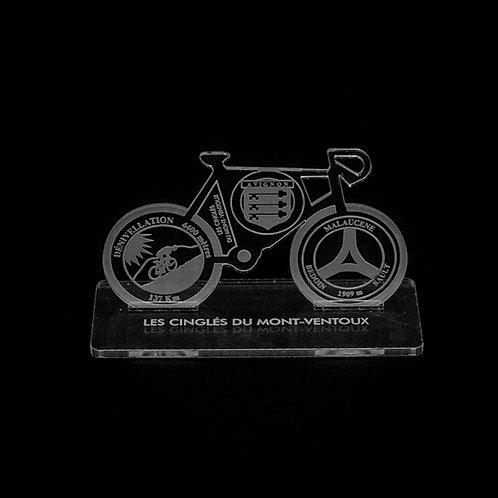 Vélo + Platine Plexi