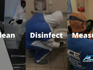 A Three Step Approach To Cleaning And Disinfection