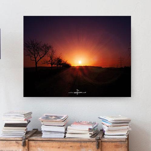 Poster Sonnenuntergang 1