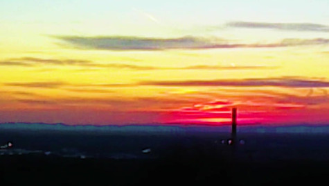 Sunset am Letzenberg
