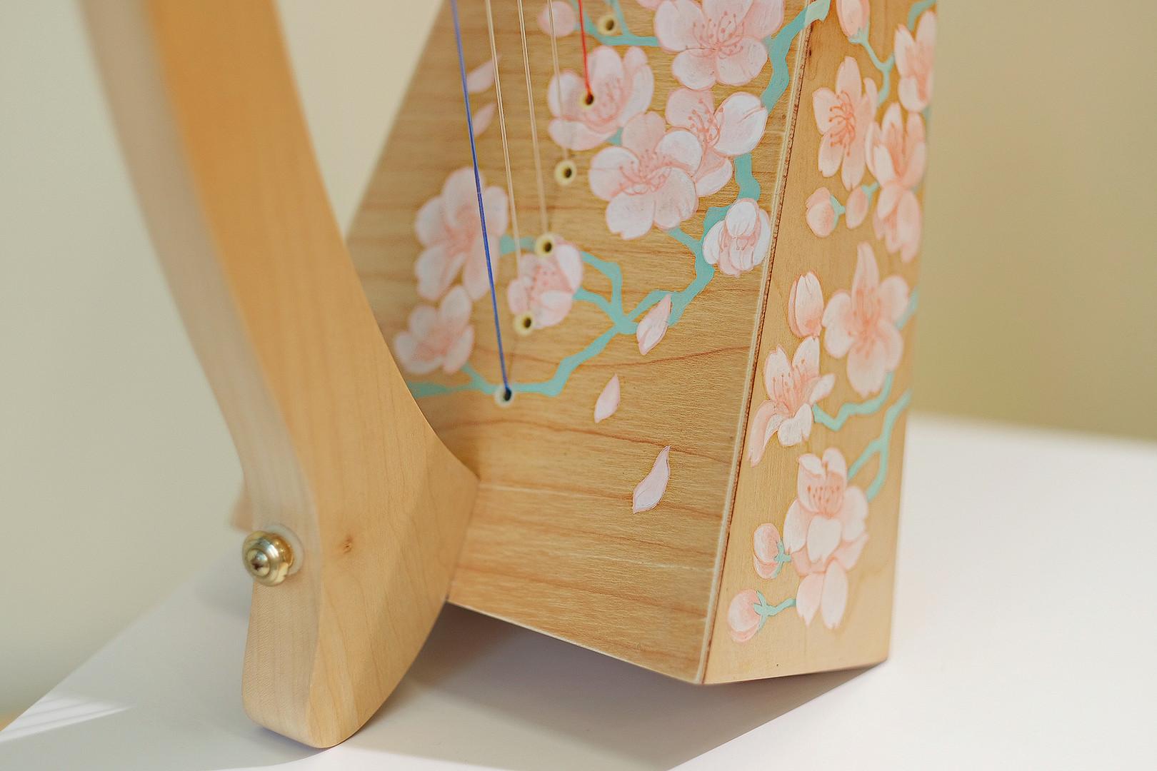 Sakura blossom, traditional