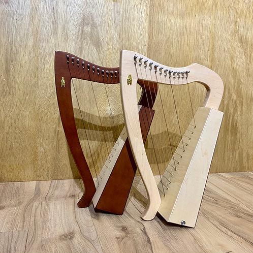 Mini Bona 特別版 12 弦小豎琴套裝 (連 20 集網上教學)