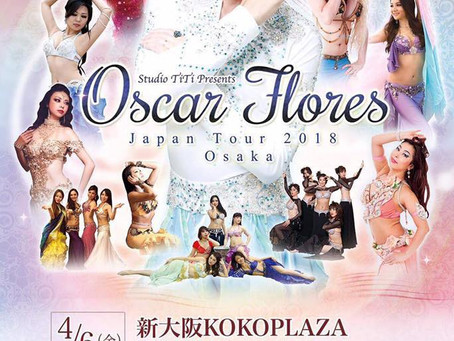 Show in Osaka 2018 with Oscar flores !