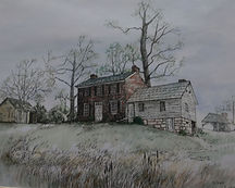 Phelps-Tavener House Painting