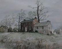 Phelps-Tavener House Painting