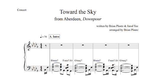 """Toward the Sky"" Chart"