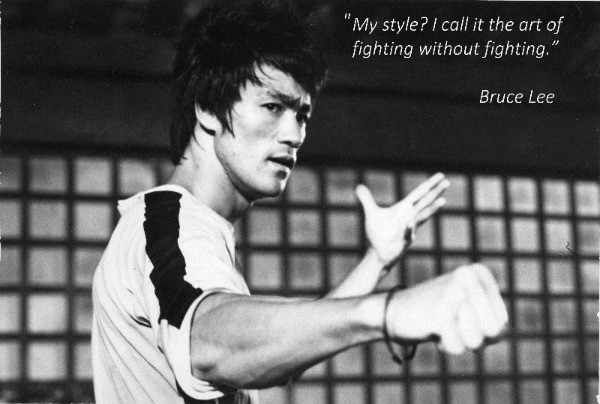 Bruce Lee has always inspired me. Maybe he can help inspire you as well.