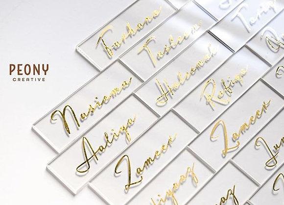 Acrylic Name Card