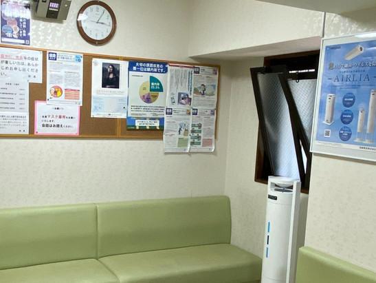 【当院の新型コロナウイルス感染予防】