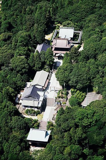 花岡八幡宮航空写真