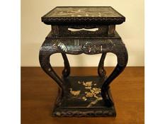唐物螺鈿飾台