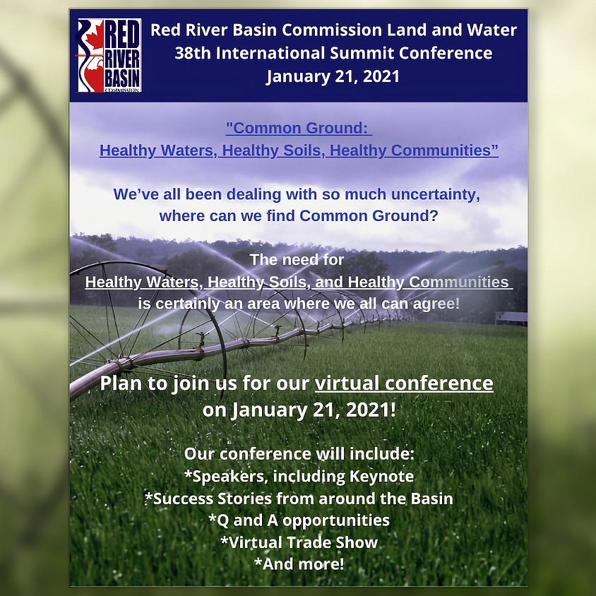 RRBC 38th Annual Red River Basin Land & Water International Summit Conference