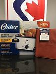 4 -20qt Roaster Oven _ $50 VISA Giftcard