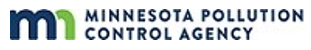 Minnesota Pollution Control Agency LOGO.