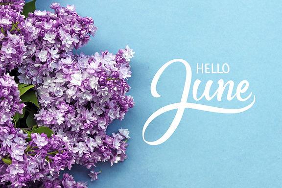 Hello June hand lettering card.jpg Summe