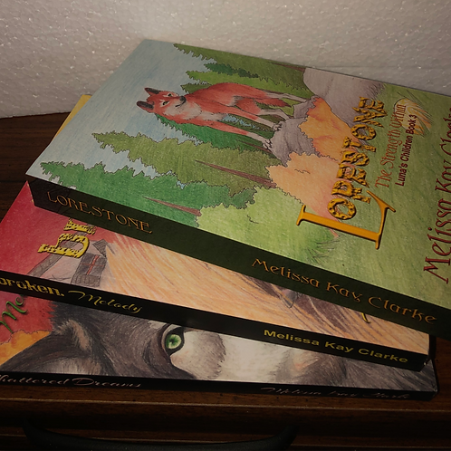 Luna's Children Series Autographed