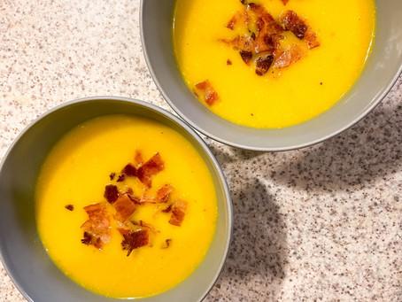 Ώρα για κολοκυθόσουπα - It's time for pumpkin soup...