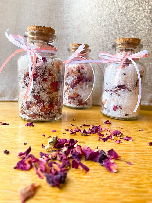 Bath Salts - Rose and White Musk