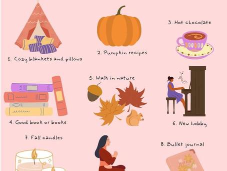 Autumn essentials - Απαραίτητα Φθινοπώρου