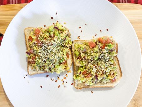 Breakfast Idea: Tuna Guacamole