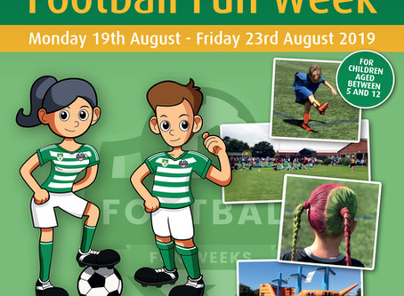 Writtle Minors Football Fun Week 2019