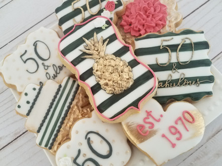 50 & Fabulous Birthday Set