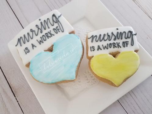 Work of Heart Cookies
