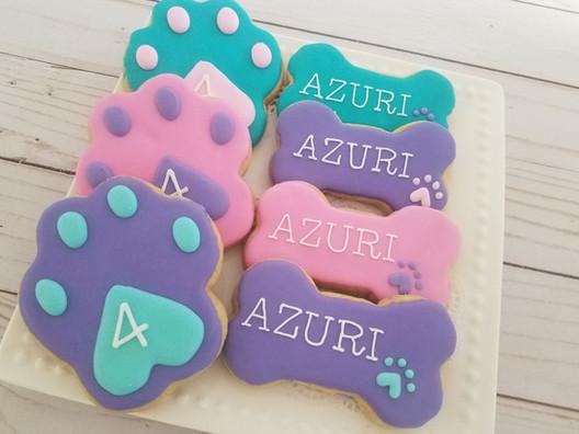 Custom Paw Birthday Set