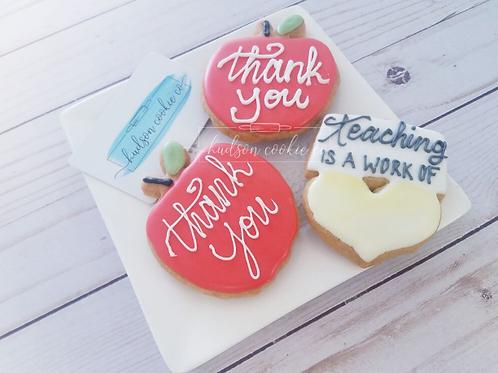 Teacher Appreciation Apples