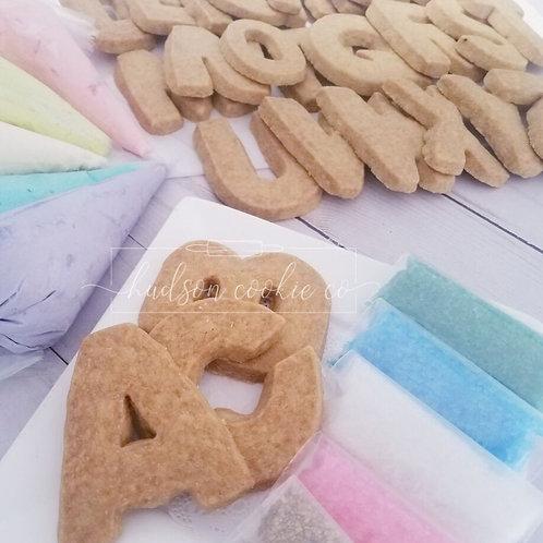 Alphabet DYO Cookie Kit