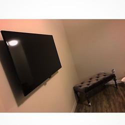 Welcome Home _sugar_14 _W🔩O📺R🔌K🔨 #wallmountit #Houston #home #theater #custom #tv #install #moun