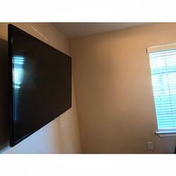 Welcome Home __bubbaluv _W🔩O📺R🔌K🔨 #wallmountit #Houston #home #theater #custom #tv #install #mou