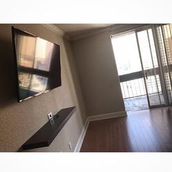 Welcome Home _itsjazzybaby__W🔩O📺R🔌K🔨 #wallmountit #Houston #home #theater #custom #tv #install #