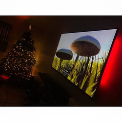 Welcome Home _mrmike0320 _W🔩O📺R🔌K🔨 #wallmountit #Houston #home #theater #custom #tv #install #mo