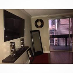 Welcome Home _itsjazzybaby _W🔩O📺R🔌K🔨 #wallmountit #Houston #home #theater #custom #tv #install #