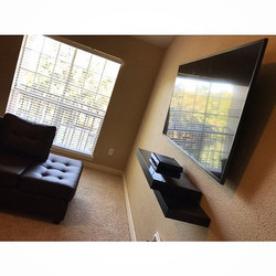 Welcome Home _Brownskinpapi02__W🔩O📺R🔌K🔨 #wallmountit #Houston #home #theater #custom #tv #instal