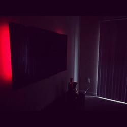 Welcome Home _iamtonimontana _W🔩O📺R🔌K🔨 #wallmountit #Houston #home #theater #custom #tv #install