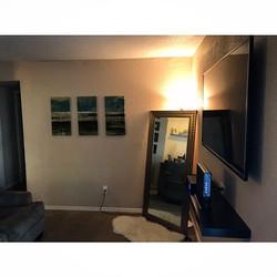 Welcome Home __cadillacb _W🔩O📺R🔌K🔨 #wallmountit #Houston #home #theater #custom #tv #install #mo
