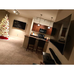 Welcome Home _john_b0yd_ _W🔩O📺R🔌K🔨 #wallmountit #Houston #home #theater #custom #tv #install #mo
