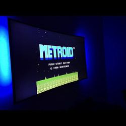 Goodnight I'm bout to play this Shit all Night 🤓 #Nes #Nintendo #Metroid #Classic #NintendoAndChill