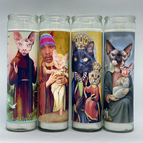 iAmMoshow The Cat Rapper Candles