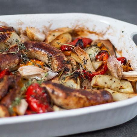 Sausage Peperonata