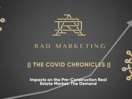 Impacts of COVID-19 on the Pre-Construction Real Estate Market: The Demand