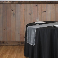 White Organza Table Runner